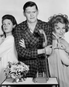 Bewitched - Sam, Darrin and Endora