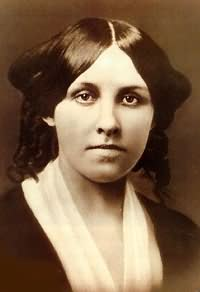 Louisa May Alcott, author of Little Women
